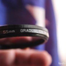 Cámara de fotos: FILTRO HOYA DEGRADADO VIOLETA DE 55MM. Lote 67031166