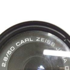 Cámara de fotos: OBJETIVO CARL ZEISS JENA DDR 49MM. Lote 68402603