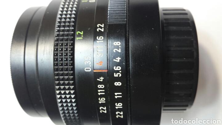 Cámara de fotos: Objetivo Carl Zeiss Jena DDR 49mm - Foto 3 - 68402603