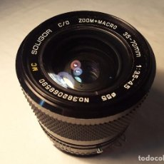 Photo camera - Soligor zoom+macro 35-70mm. Montura F - 70223965