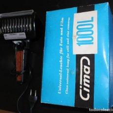 Cámara de fotos: LÁMPARA CIMA 1000L PARA FOTO-CINE VINTAGE . FUNCIONANDO .. Lote 70288669