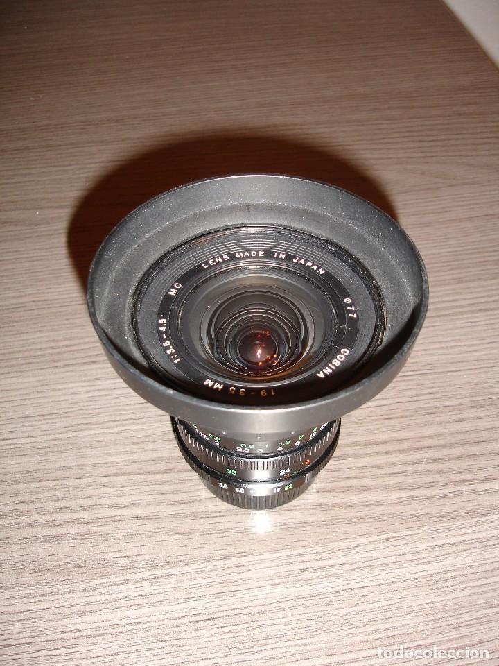 Cámara de fotos: Objetivo Zoom Cosina 19-35 Yashica Contax - Foto 2 - 72382383