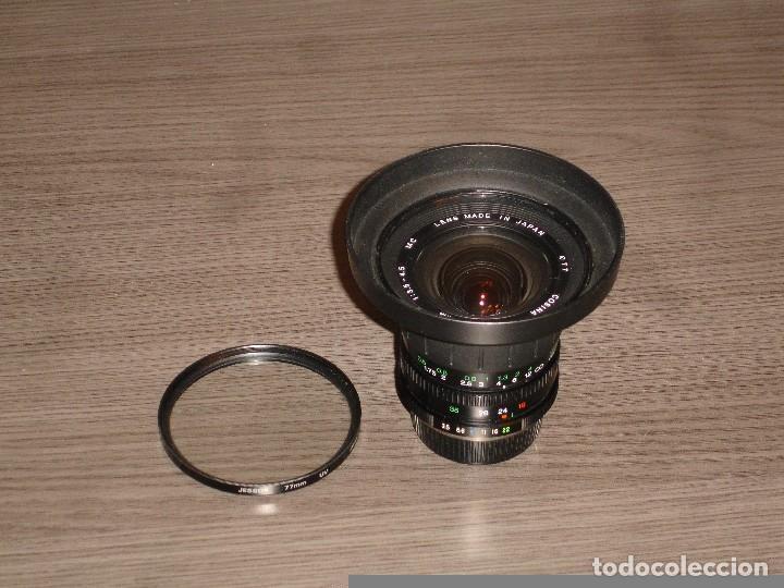 Cámara de fotos: Objetivo Zoom Cosina 19-35 Yashica Contax - Foto 3 - 72382383