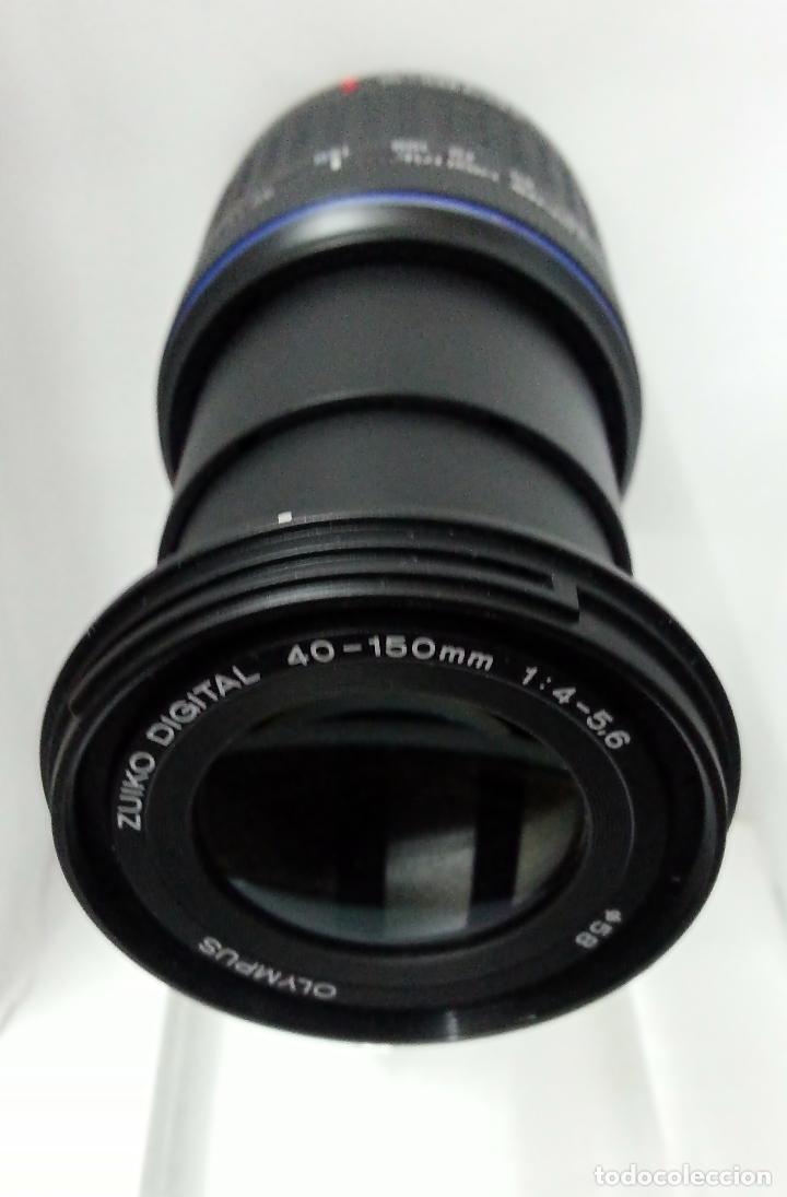 Cámara de fotos: Objetivo Olympus Zuiko Digital 40-150mm 1:4=5,6 - Foto 2 - 53635707