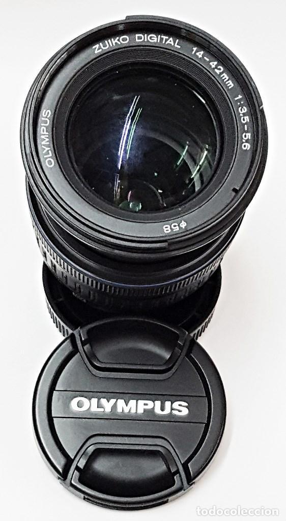 Cámara de fotos: Objetivo OLYMPUS ZUIKO DIGITAL 14.42 mm.1:3.5-5.6. - Foto 2 - 104711999