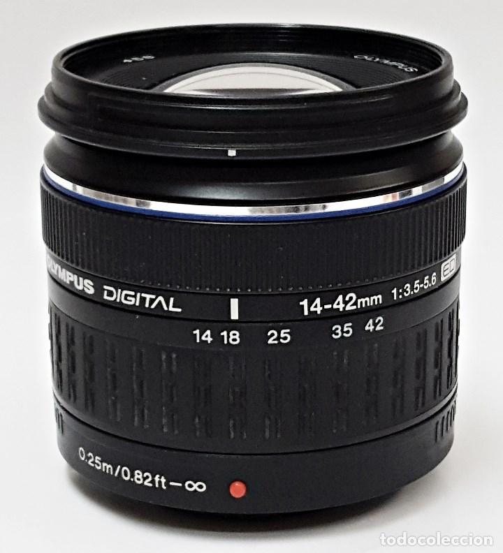 Cámara de fotos: Objetivo OLYMPUS ZUIKO DIGITAL 14.42 mm.1:3.5-5.6. - Foto 4 - 104711999