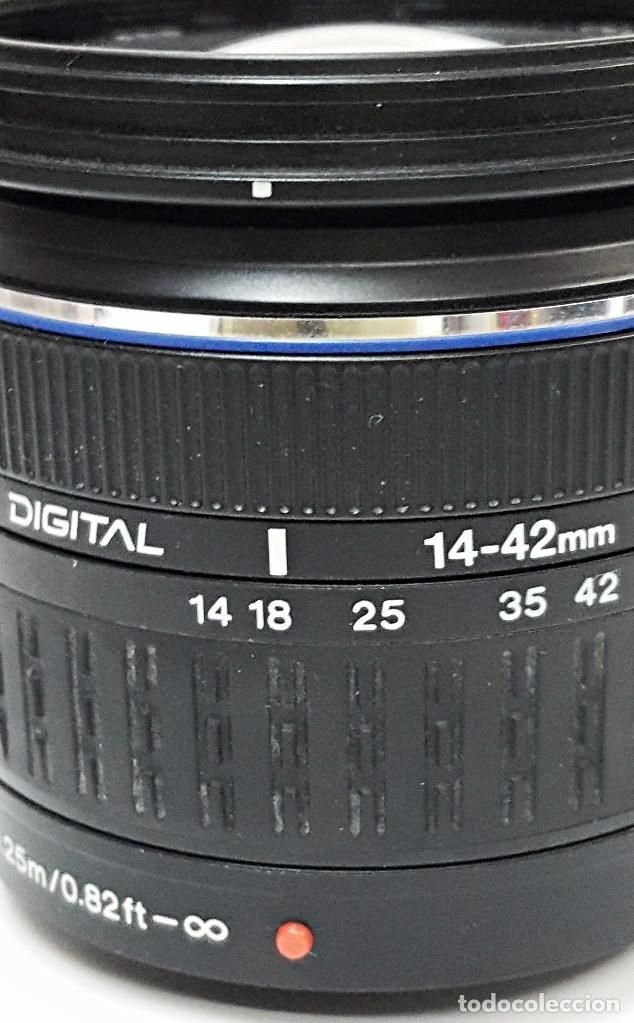Cámara de fotos: Objetivo OLYMPUS ZUIKO DIGITAL 14.42 mm.1:3.5-5.6. - Foto 5 - 104711999