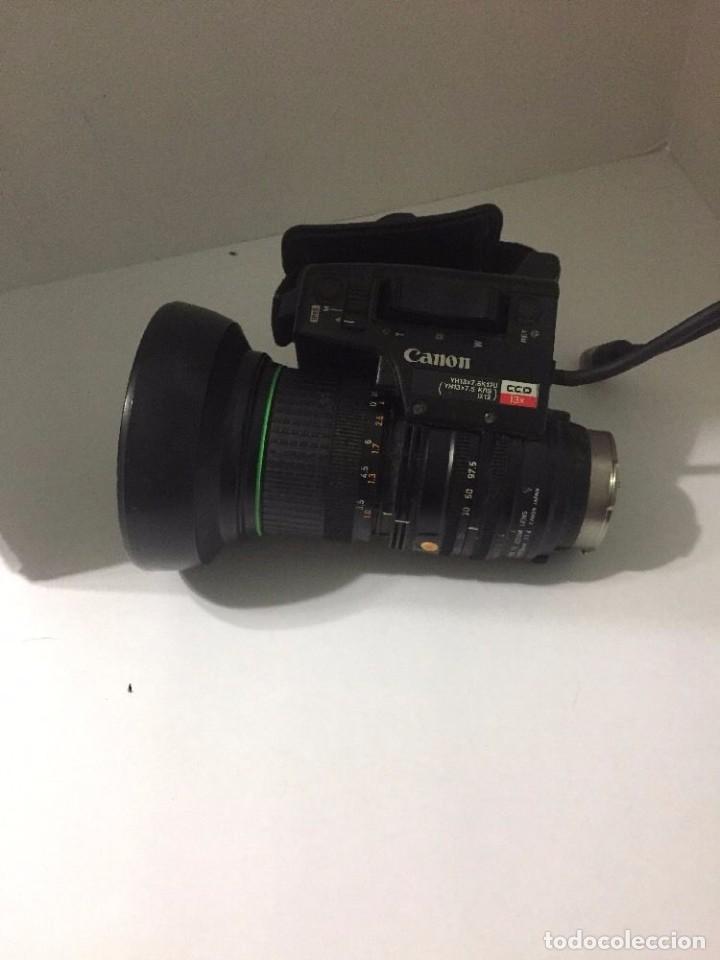 CANON-YH13X7-5K12U-MACRO-BCTV-TV-ZOOM-LENS-7-5-97-5MM-1-1-4 CANON-YH13X7-5K12U-MACRO-BCTV-TV-ZOOM- (Cámaras Fotográficas Antiguas - Objetivos y Complementos )