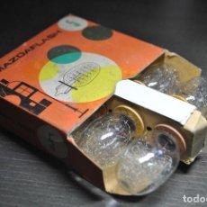 Cámara de fotos: FLASH MAZDA 5 - CAJA COMPLETA CON 6 BOMBILLAS NUEVAS-. Lote 75125891