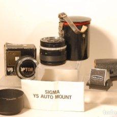Cámara de fotos: LOTE PRODUCTOS PARA CAMARA MIRANDA 1 OBJETIVO SOLIGOR WIDE AUTO 1.2.8/28 MM PARASOL MIRANDA. Lote 75286423