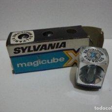 Cámara de fotos: (TC-119) SYLVANIA 3 FLASH SYLVANIA MAGICUBE X. Lote 116243320