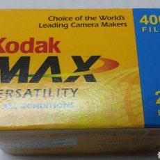 Cámara de fotos: CARRETE ANTIGUO DE FOTOS KODAK MAX AÑO 2006. Lote 76702889