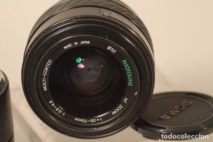 OBJETIVO SIGMA A,F 35-70 1.3.5-4.5 ZOOM PARA MINOLTA (Cámaras Fotográficas Antiguas - Objetivos y Complementos )