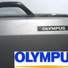 Cámara de fotos: ESTUCHE MALETA RIGIDA-OLYMPUS FOTOGRAFIA - TYPE XV10 - ESPUMA INTERIOR 60X42 CMS. Lote 77438389