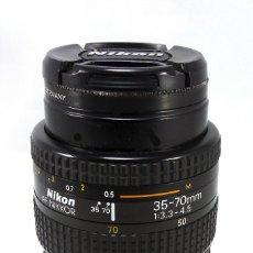 Cámara de fotos: NIKON 35-70MM 3.3-4.5. Lote 77498493