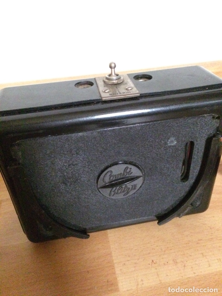 Cámara de fotos: Flash con cargador batería portátil de cámara de fotos combi blitz II - Foto 9 - 77607811