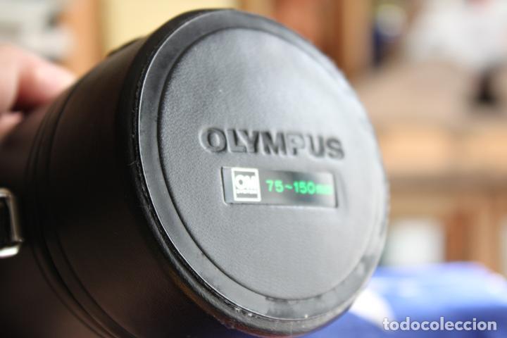 Cámara de fotos: Zoom Zuiko (Olympus) 75-150 1:4 + tapas y estuche original - Foto 3 - 77611005