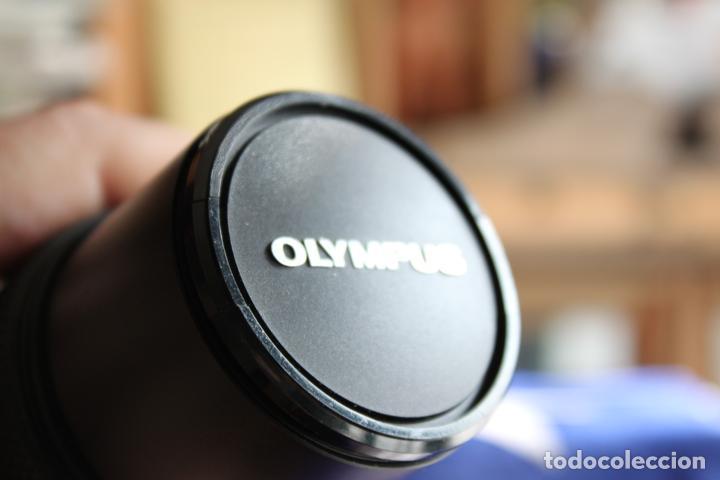 Cámara de fotos: Zoom Zuiko (Olympus) 75-150 1:4 + tapas y estuche original - Foto 4 - 77611005