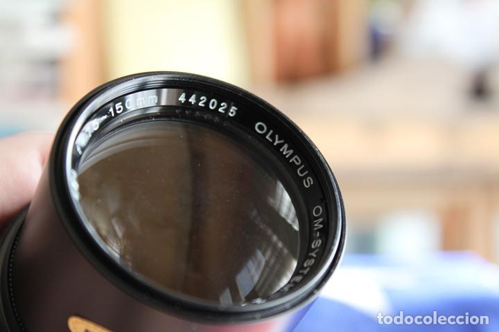 Cámara de fotos: Zoom Zuiko (Olympus) 75-150 1:4 + tapas y estuche original - Foto 6 - 77611005