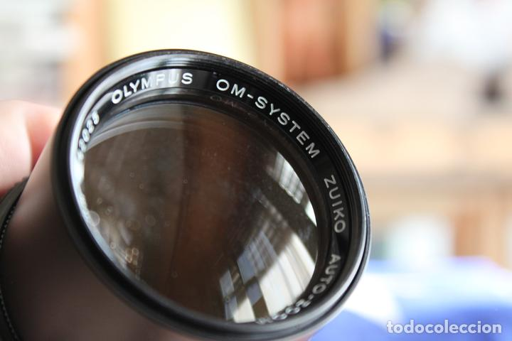 Cámara de fotos: Zoom Zuiko (Olympus) 75-150 1:4 + tapas y estuche original - Foto 7 - 77611005