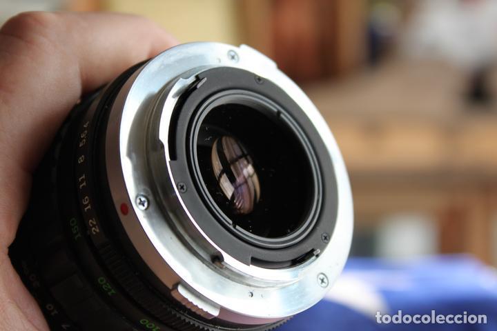 Cámara de fotos: Zoom Zuiko (Olympus) 75-150 1:4 + tapas y estuche original - Foto 8 - 77611005