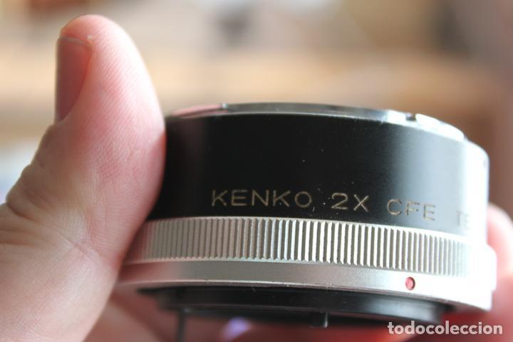 Cámara de fotos: Duplicador KENKO TELEPLUS (Canon FD) - Foto 3 - 77613493