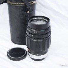 Cámara de fotos: RARO OBJETIVO - KOMURA F=135MM 1:3.5 SANKYO KOHKI - JAPAN MONTURA BAYONETA PARA CÁMARA EXACTA. Lote 77976241