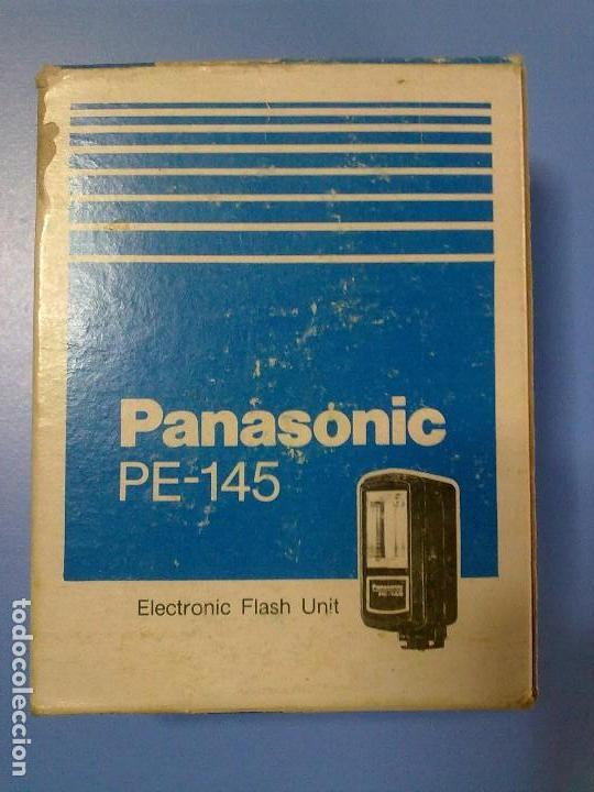 FLASH PANASONIC PE-145 (Cámaras Fotográficas Antiguas - Objetivos y Complementos )