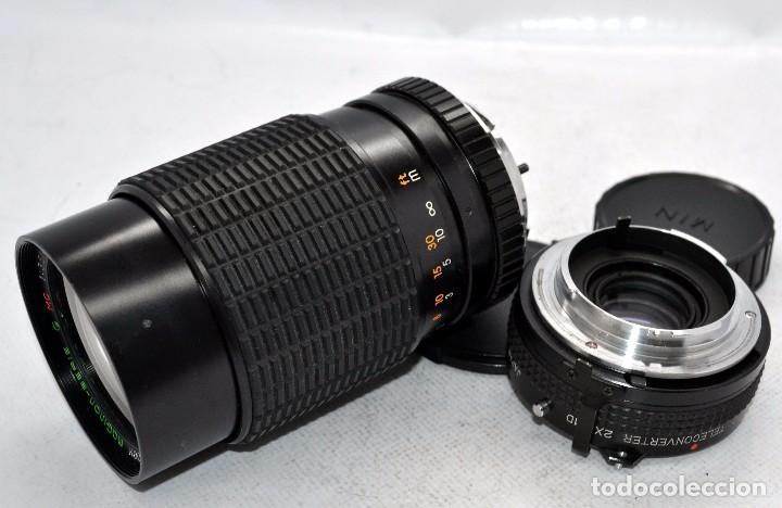 Cámara de fotos: OBJETIVO REFLEX..EXCELENTE 35/135mm.f:3.5/4.5.MAGINON+TELECONVERTER 2X..MINOLTA SR..MUY BUEN ESTADO - Foto 4 - 83495988