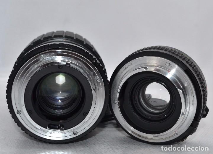 Cámara de fotos: OBJETIVO REFLEX..EXCELENTE 35/135mm.f:3.5/4.5.MAGINON+TELECONVERTER 2X..MINOLTA SR..MUY BUEN ESTADO - Foto 6 - 83495988