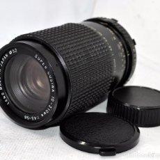Cámara de fotos: OBJETIVO REFLEX..EXCELENTE.. 70/210MM.F:4.5/5.6..SUPER COSINA.. BAYONETA MINOLTA SR..MUY BUEN ESTADO. Lote 83792876