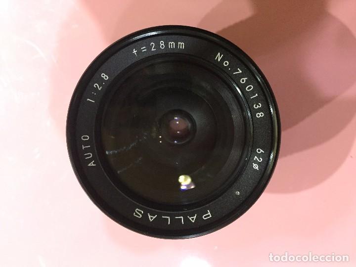Cámara de fotos: Objetivo Pallas auto 28mm f 2.8 montura M42 - Foto 4 - 84562016
