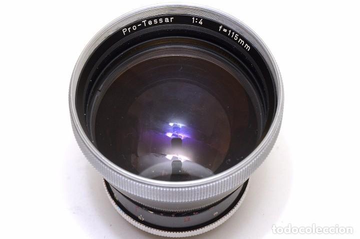 Cámara de fotos: Zeiss Ikon Pro-Tessar 1:4 f=115mm para Contaflex - Foto 2 - 84598816