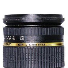 Cámara de fotos: ÓPTICA TAMRON 2.8-17/50MM DI II,SP-VC. Lote 85013496