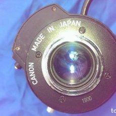 Cámara de fotos: OBJETIVO PARA MAQUINA FOTOGRAFICA CANON TV ZOOM LENS V6X17 17 102MM. Lote 85235032