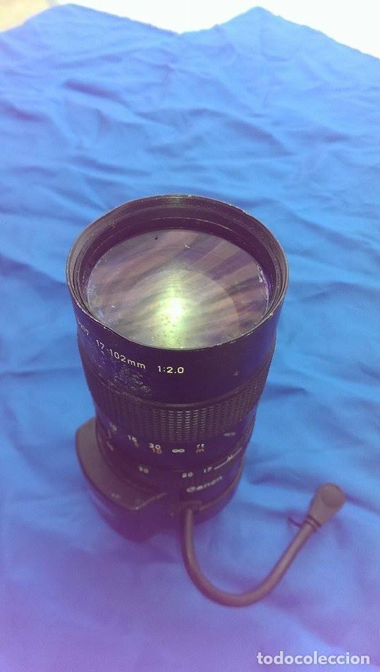 Cámara de fotos: objetivo para maquina fotografica canon TV zoom lens V6x17 17 102mm - Foto 3 - 85235032