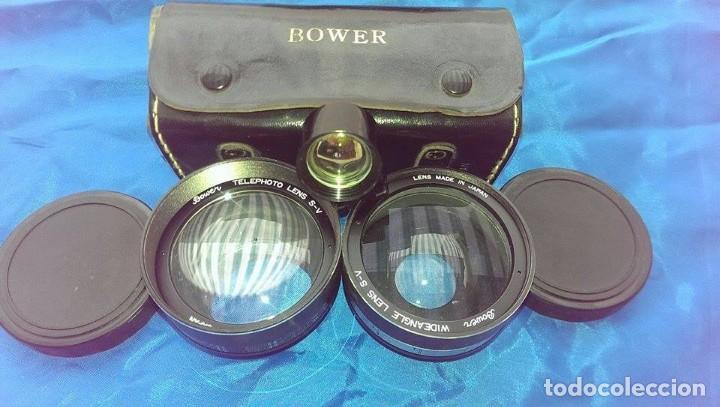 Cámara de fotos: 2 objetivo bower para maquina fotografica y 1 mirilla funda cuero - Foto 2 - 85235608