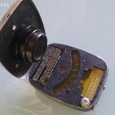 Cámara de fotos: FOTOMETRO ELECTRO BEWI STANDAR MADE GERMANY AÑOS 30. LA CELULA FUNCIONA. Lote 85924892