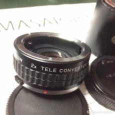 Cámara de fotos: ADAPTADOR COZON DE TELE A MACRO, COZON 2X TELE CONVERTER O/OM. Lote 86009148