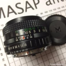 Cámara de fotos: OBJETIVO X-FUJINON 1:1.9 F 50MM FM . Lote 86010156