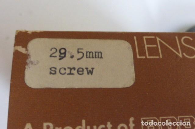Cámara de fotos: Parasol rigido, plastico..años 70..29,5mm..nuevo en caja,,de almacen. - Foto 3 - 87989908