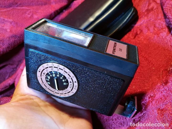 Cámara de fotos: Fontron Flash Unit modelo u 8 japan año 1960 - Foto 5 - 88362484