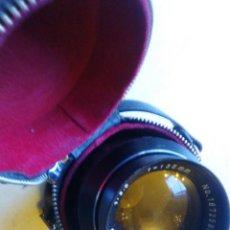 Cámara de fotos: OBJETIVO CÁMARA FE FOTOS MARCA SOLIGOR 1:35, CON SU FUNDA. Lote 89693948