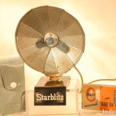 Cámara de fotos - flash national abanico funda y 5 lamparas xm1b decoracion 1963 - 89818908