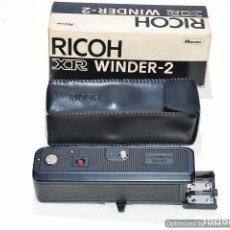 Cámara de fotos: MOTOR RICOH XR WINDER-2 CON CAJA Y FUNDA. Lote 91446160