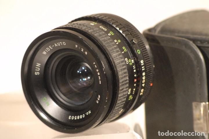 Cámara de fotos: repeticion fotos objetivo m.c sun wide -auto f.2 -.8 28.mm para camera canon bolsa - Foto 2 - 91749535