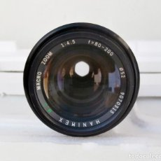 Cámara de fotos - NIKON AI - OBJETIVO HANIMEX M.C MACRO ZOOM F=80-200 1:4.5 - 92267650
