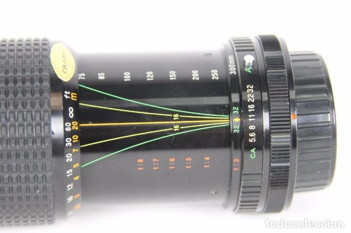 Cámara de fotos: Albinar ADG 75-300mm 1:5,6 montura canon fd ae-1 ae1 a-1 a1 f-1 f1 300 - Foto 2 - 92720205