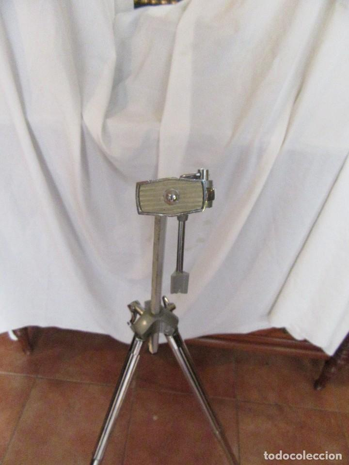 Cámara de fotos: TRÍPODE METÁLICO VIOLA - Foto 2 - 93279385