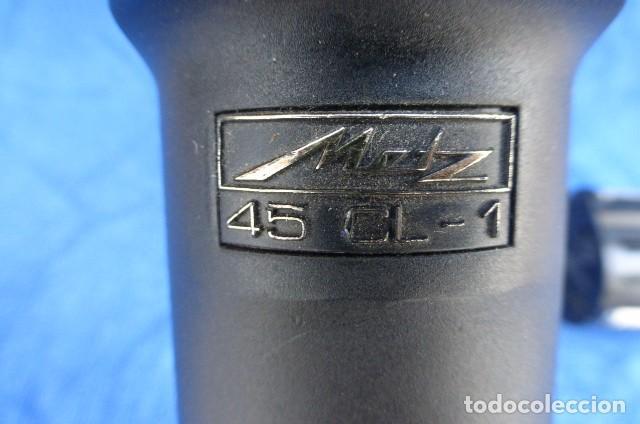 Cámara de fotos: Flahs profesional Metz 45 CL-1 , Alemania...con bateria recargable...Descripcion. - Foto 2 - 93585485